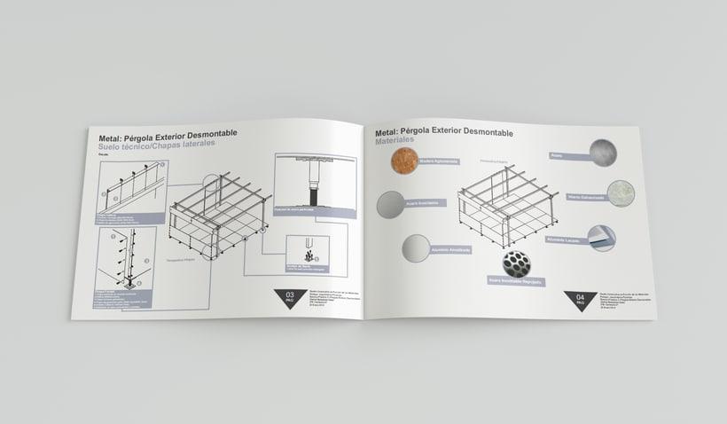 Diseño constructivo // Folleto // Diseño de interiores //  ESD 0