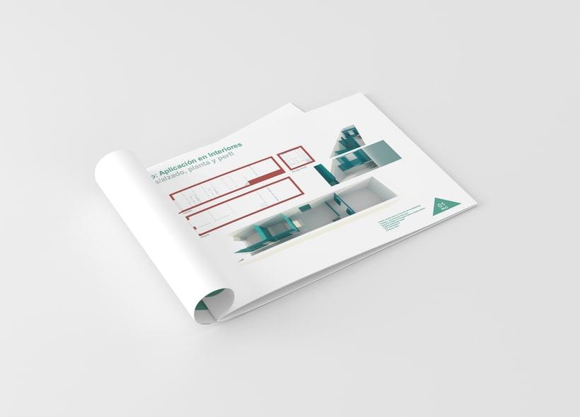 Diseño constructivo // Folleto // Diseño de interiores //  ESD 1