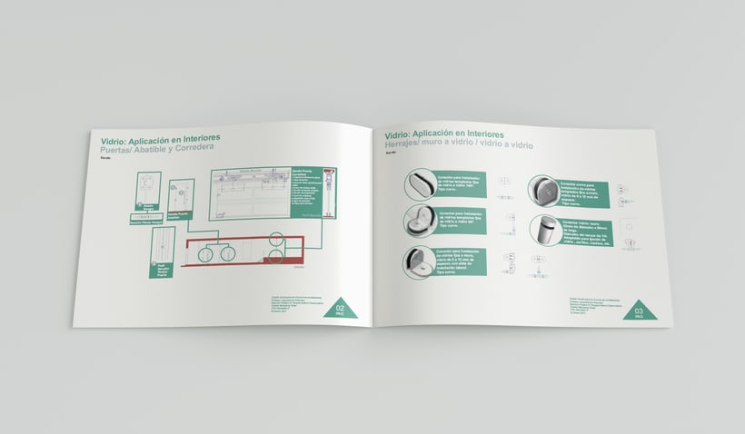Diseño constructivo // Folleto // Diseño de interiores //  ESD 2