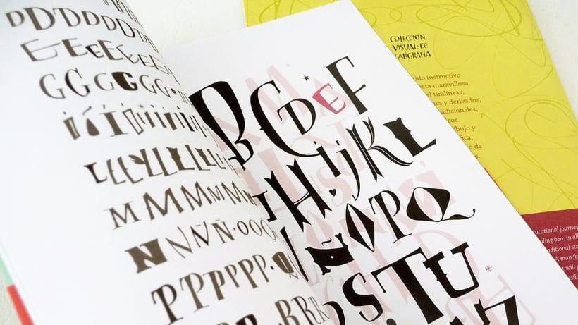 Colección Visual de Caligrafía, libros de caligrafía 4