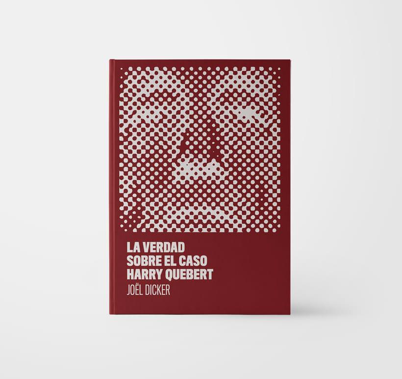 Diseño portada La verdad sobre el caso Harry Quebert -1
