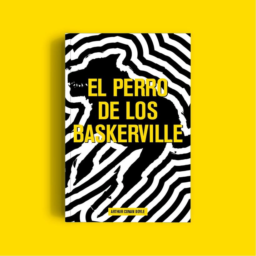 Diseño portada El perro de los Baskerville -1