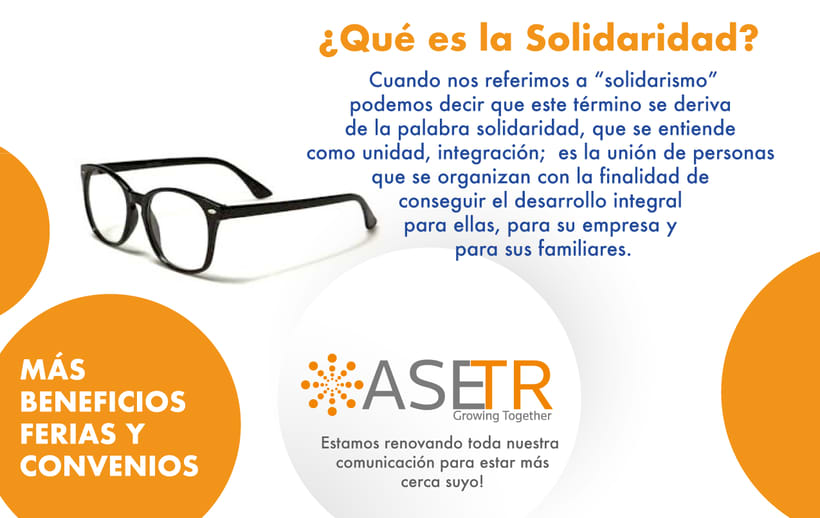 Newsletters para Thomson Reuters ASETR Asociación Solidarista de T&R 6