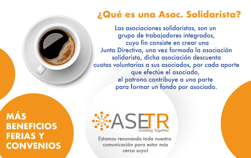 Newsletters para Thomson Reuters ASETR Asociación Solidarista de T&R 7