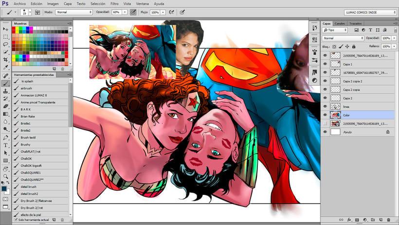 Ilustraciones Digitales Estilo Cómics con Photoshop 1