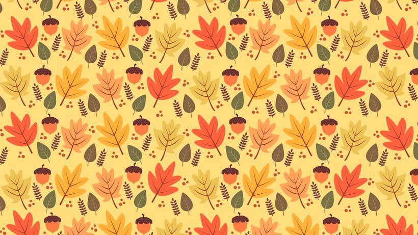 Autumn Pattern | Design analógico y digital 2
