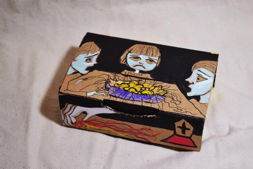 """Las cajas de Resnick (proyecto para BBAA) """"Puré de pelos """" -1"""
