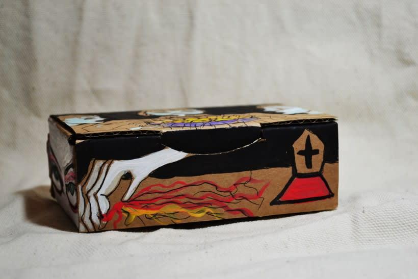 """Las cajas de Resnick (proyecto para BBAA) """"Puré de pelos """" 1"""