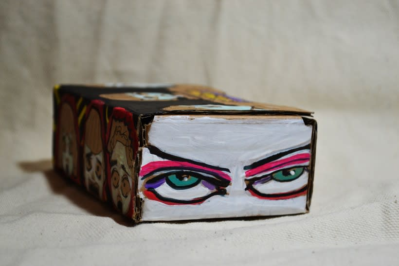"""Las cajas de Resnick (proyecto para BBAA) """"Puré de pelos """" 2"""