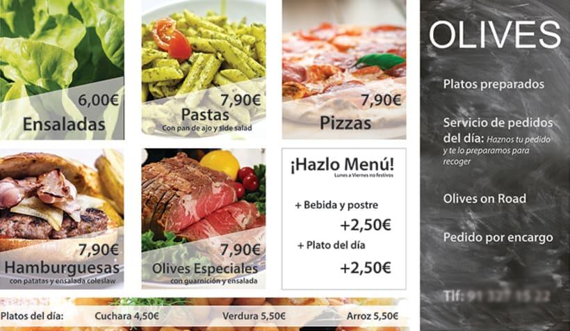 Cartelería y Roll Up - Olives -1