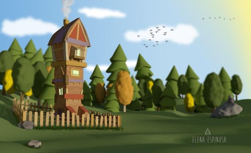 3D House -1