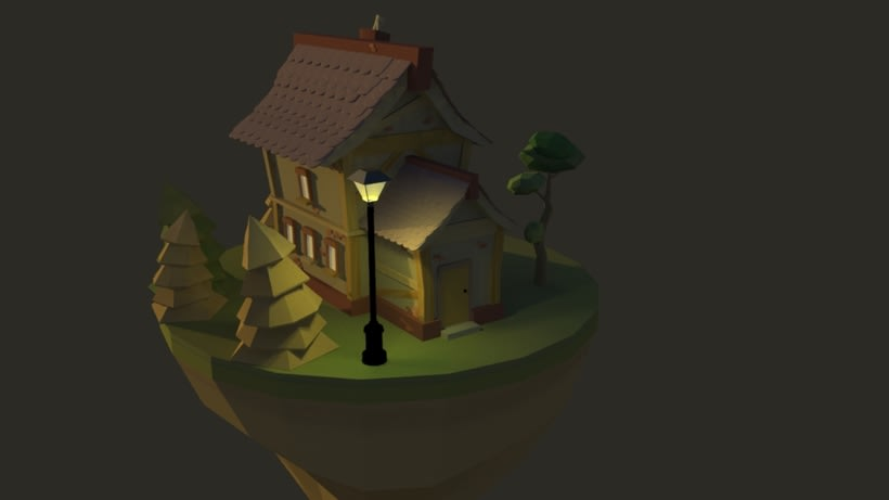 Lowpoly house 0