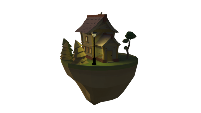 Lowpoly house 1