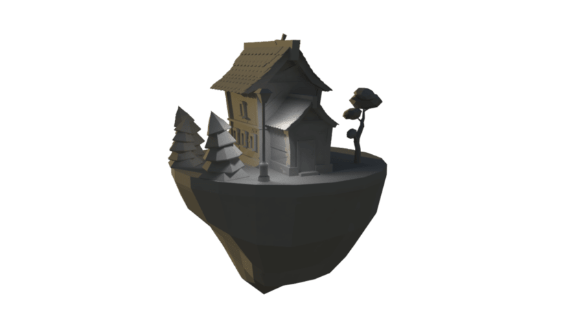 Lowpoly house 2
