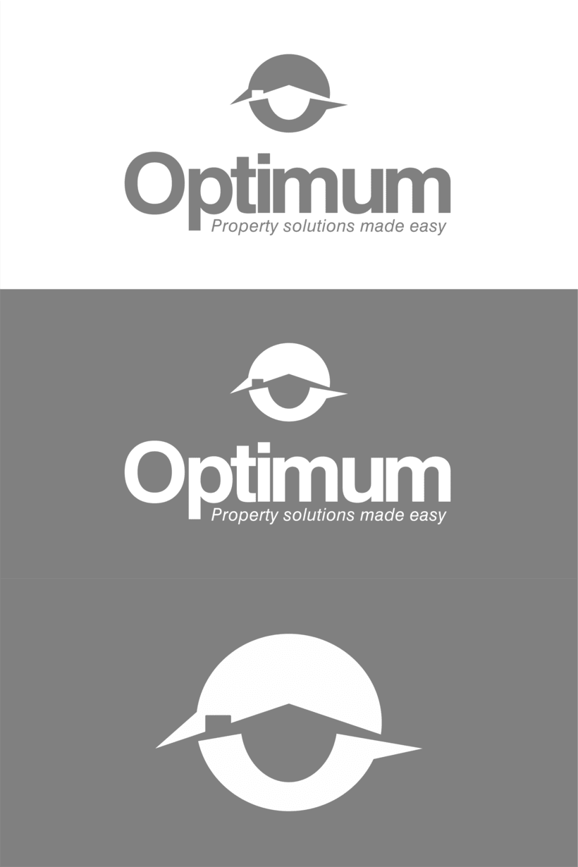 Optium, logotipo para empresa de soluciones inmobiliarias. -1