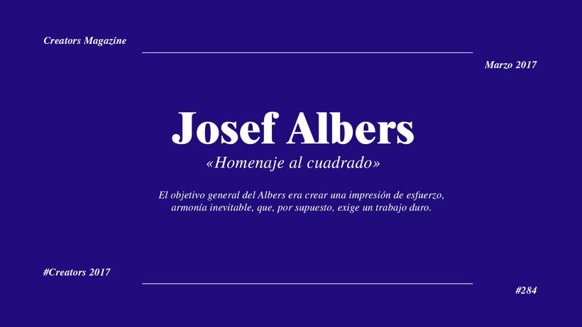 Josef Albers - Homenaje al cuadrado 1