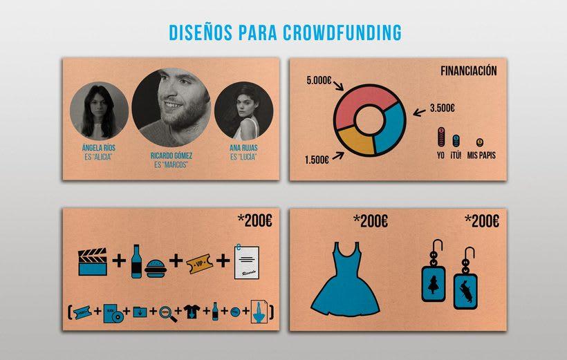 """Diseño de cartel y gráfica para el cortometraje """"Alicia"""" 3"""