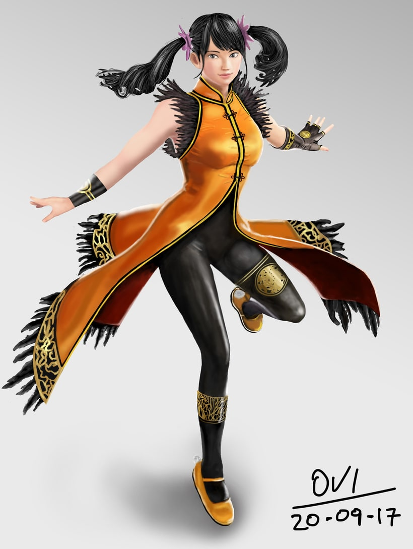 Ling Xiaoyu - Digital Painting -1