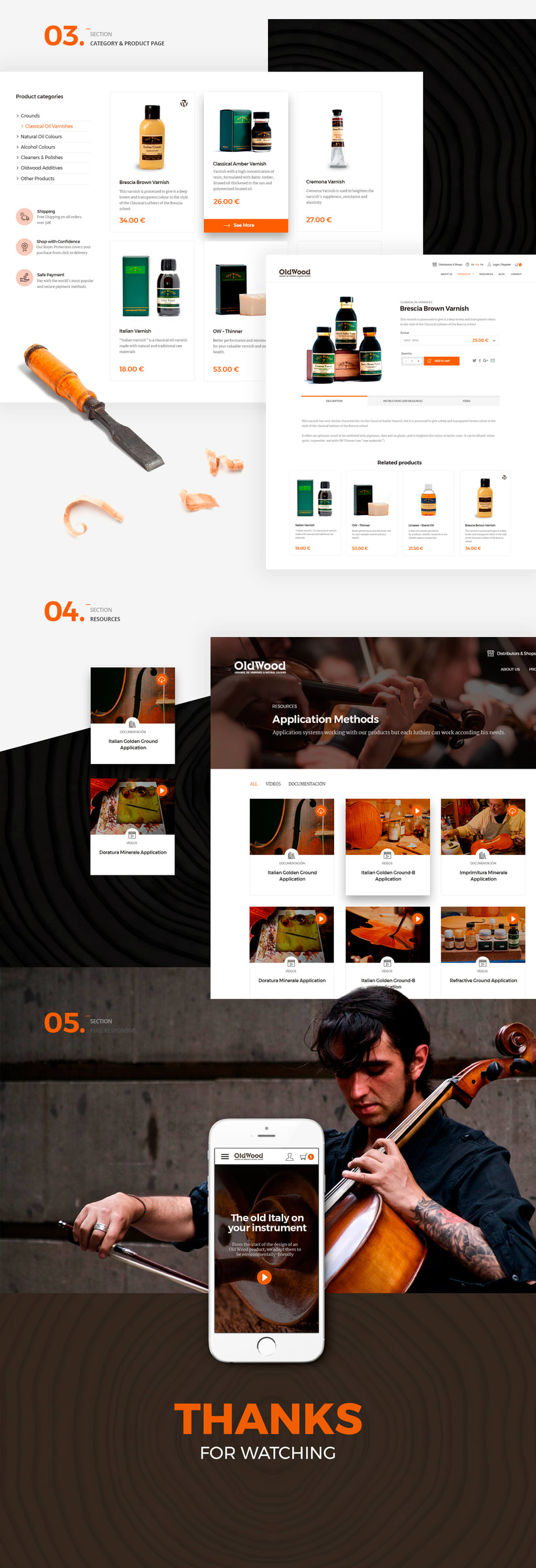 Oldwood new websiteNuevo proyecto 1