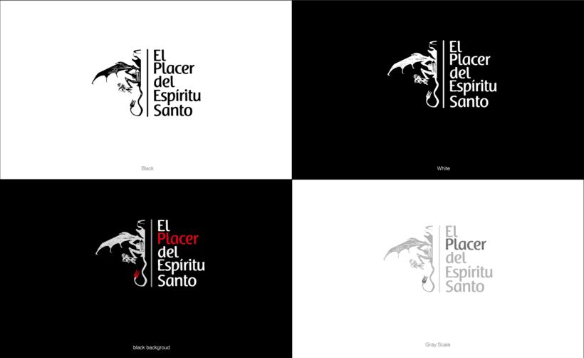 Branding Restaurante El Placer del Espíritu Santo 4