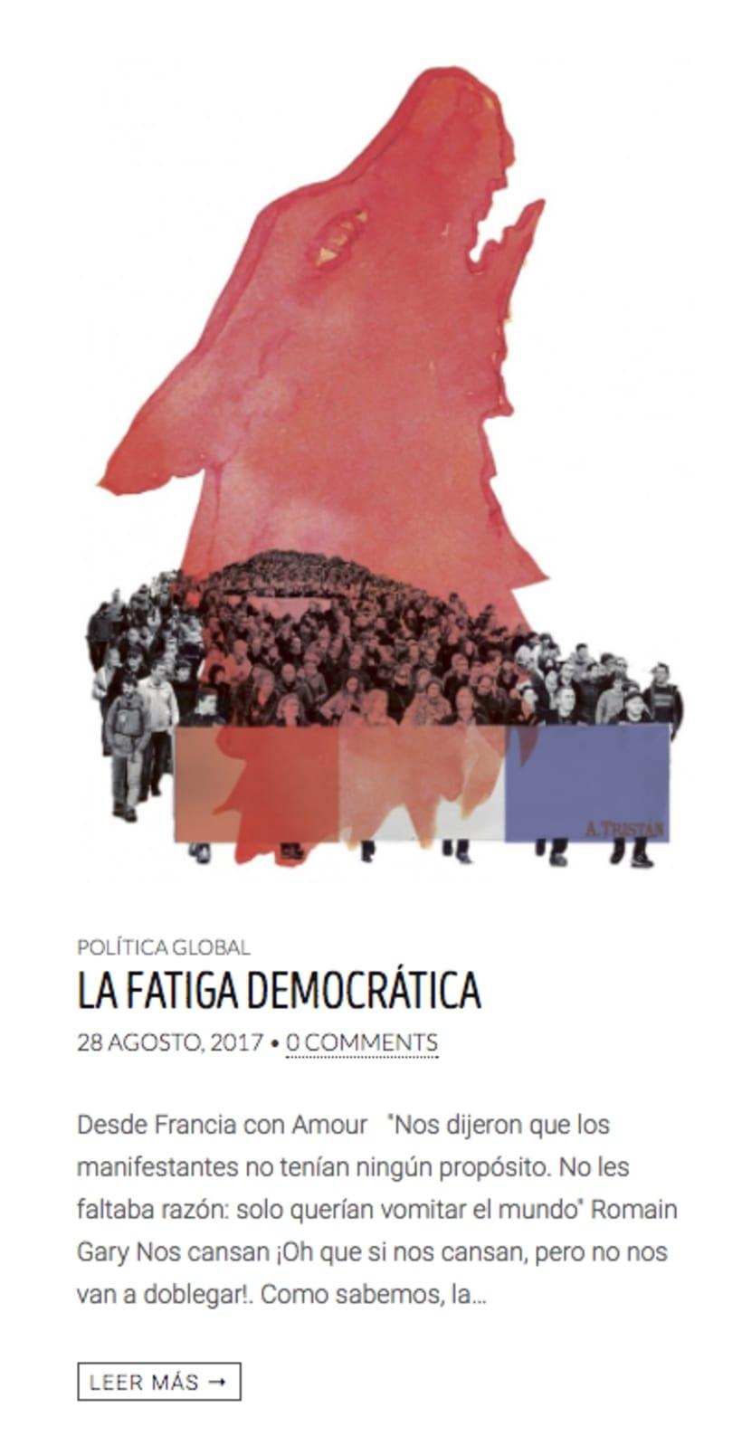 La fatiga democrática - EL Topo #23 0