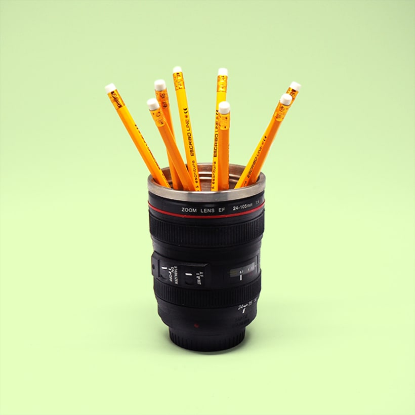 Mi Proyecto del curso: Creación de imágenes Pop Art con objetos cotidianos 1