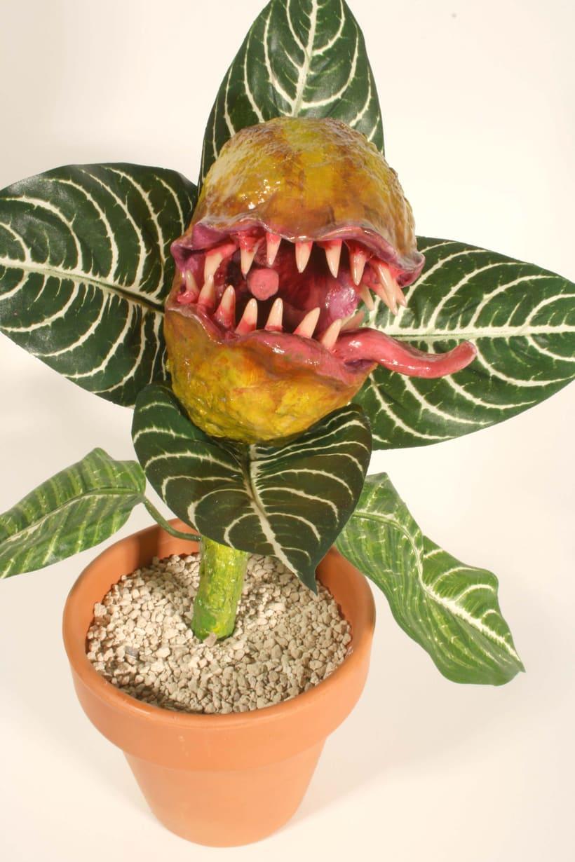 Plantas carnívoras artesanales -1