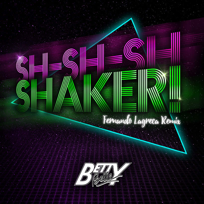 "Portada del disco de Betty Belle ""Sh-sh-sh Shaker!"" 1"