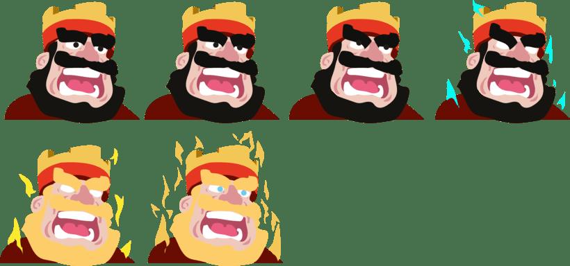GIF de King Clash Royale  0