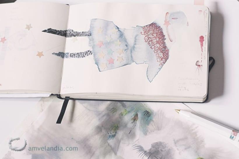 Cuaderno de bitácora - sketchbook 2