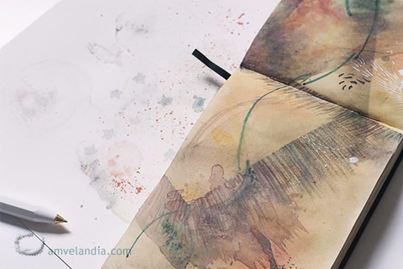 Cuaderno de bitácora - sketchbook 6