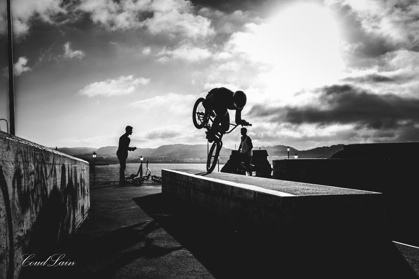 23/05/2017 BMX en el skatepark de Cimadevilla, Gijón - Asturias 1