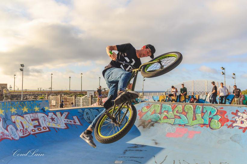 23/05/2017 BMX en el skatepark de Cimadevilla, Gijón - Asturias 3
