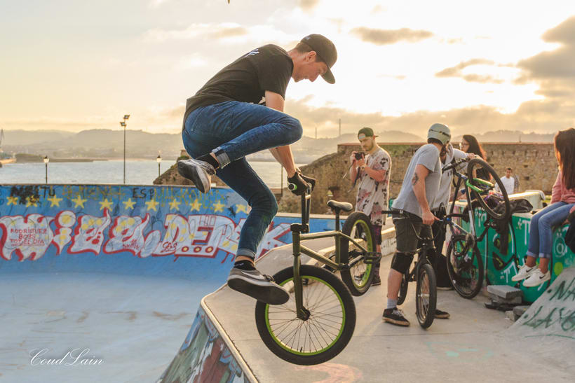 23/05/2017 BMX en el skatepark de Cimadevilla, Gijón - Asturias 7