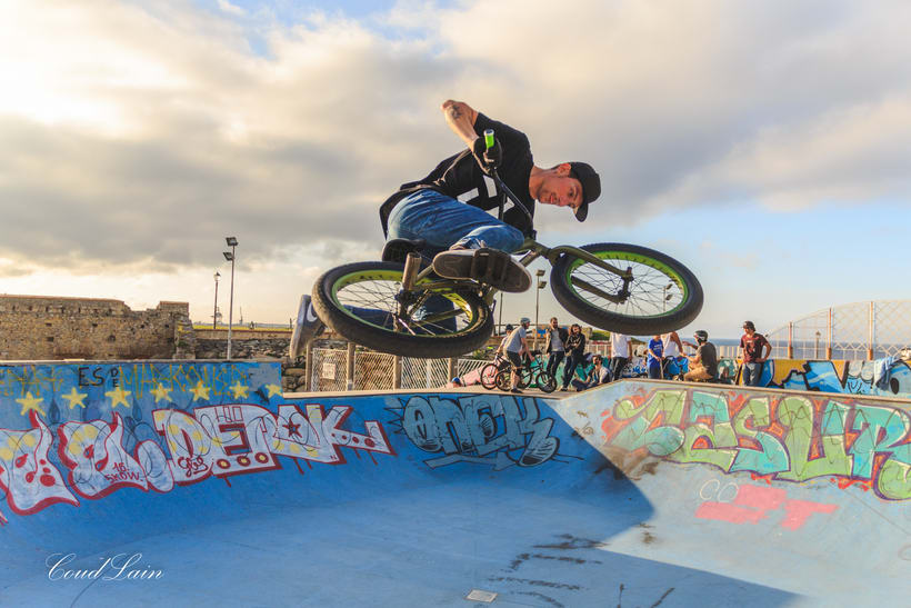 23/05/2017 BMX en el skatepark de Cimadevilla, Gijón - Asturias 11