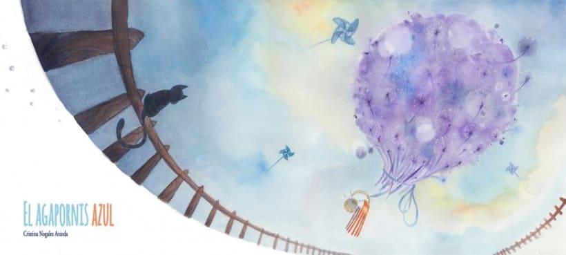 Álbum ilustrado el Agapornis Azul 2