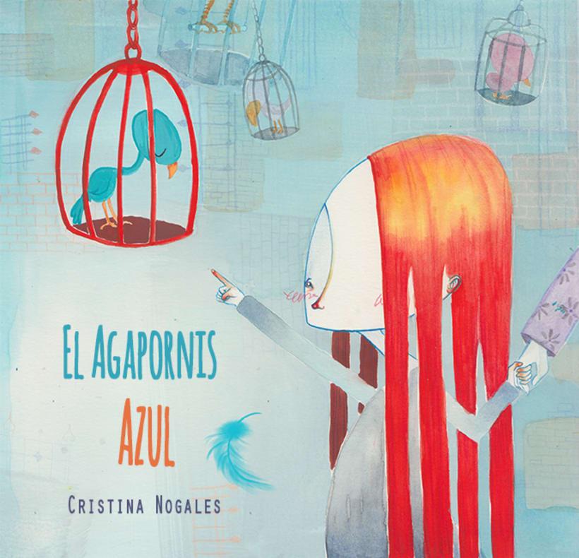 Álbum ilustrado el Agapornis Azul 1