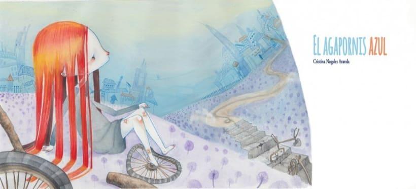 Álbum ilustrado el Agapornis Azul 6