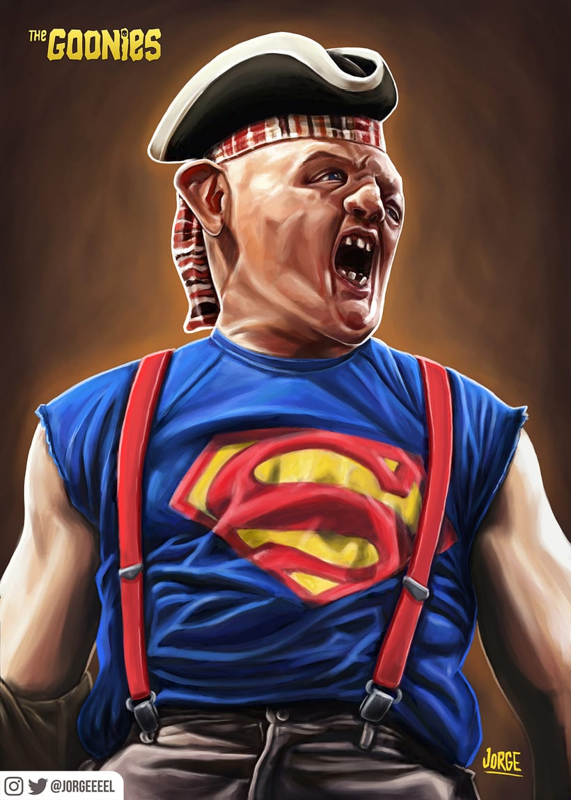 Super Sloth! The Goonies -1