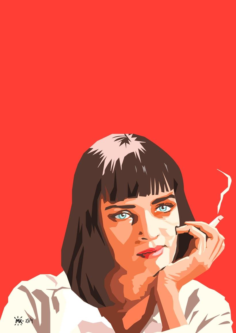 Mia Wallace y Pulp Fiction -1