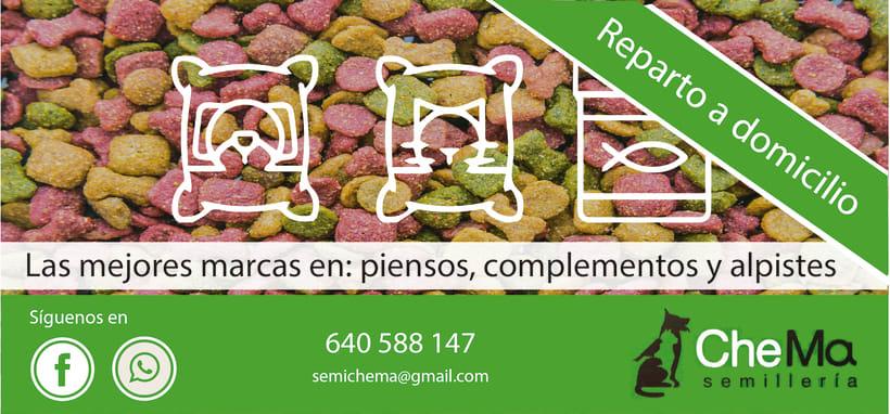 """Flyer """"Semillería Chema"""" -1"""