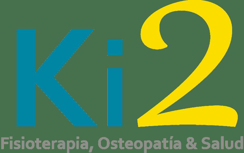 "Logotipo ""Clínica Fisioterapia Ki2"" -1"