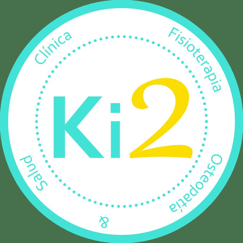 "Logotipo ""Clínica Fisioterapia Ki2"" 0"