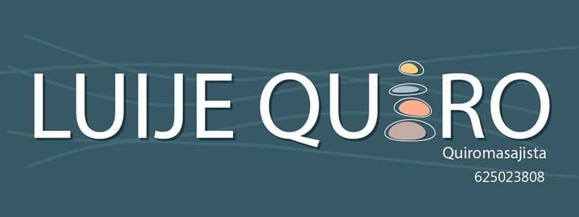 """Logotipo """"Luije Quiro"""" fisioterapeuta 0"""