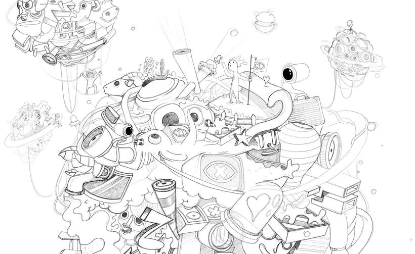 """Ilustración para el """"Confe"""" de Gran Hermano Revolution (18) 9"""