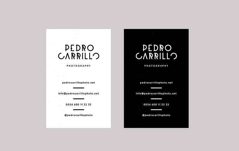 Pedro Carrillo Photography — Branding 6