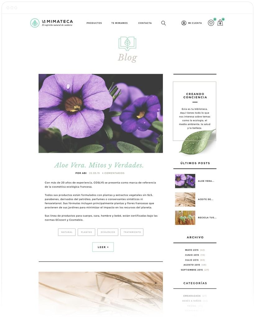 La Mimateca — Branding & E-commerce 10