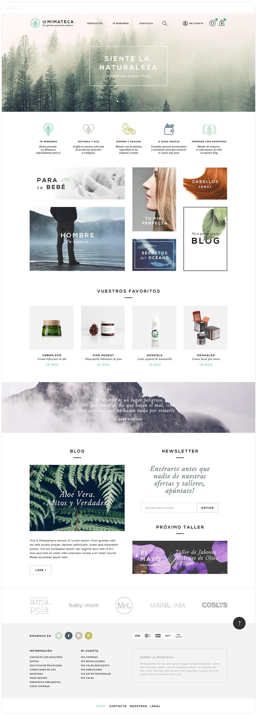 La Mimateca — Branding & E-commerce 11
