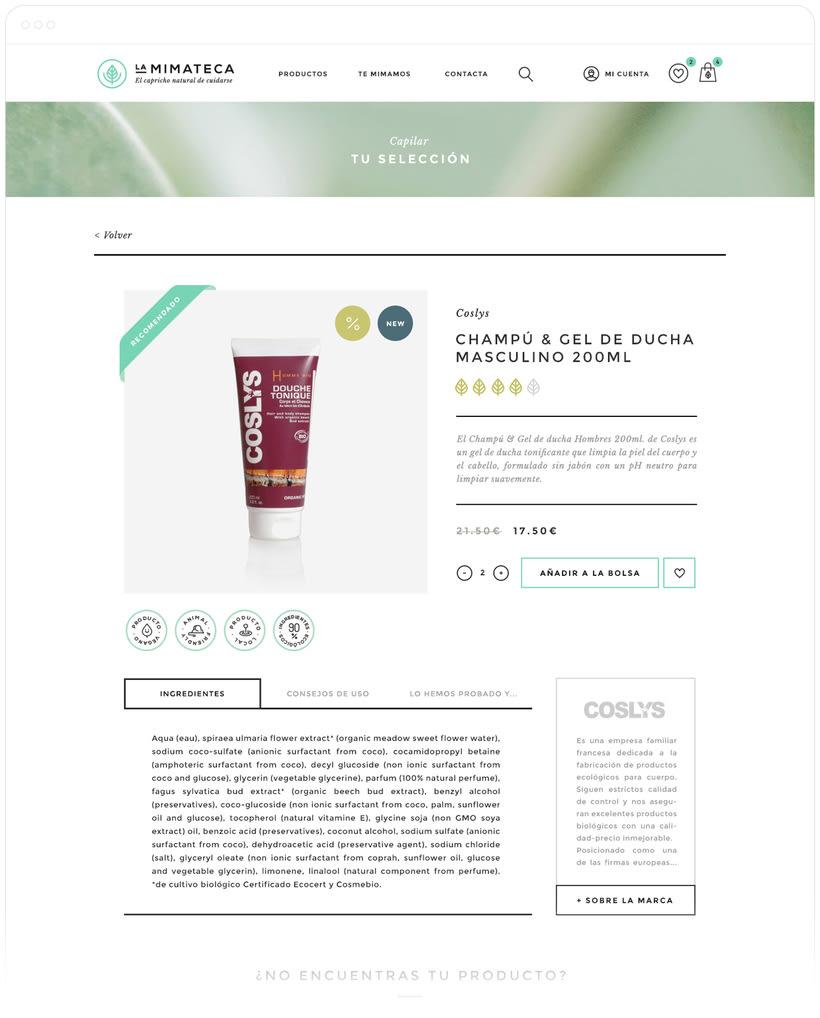 La Mimateca — Branding & E-commerce 12