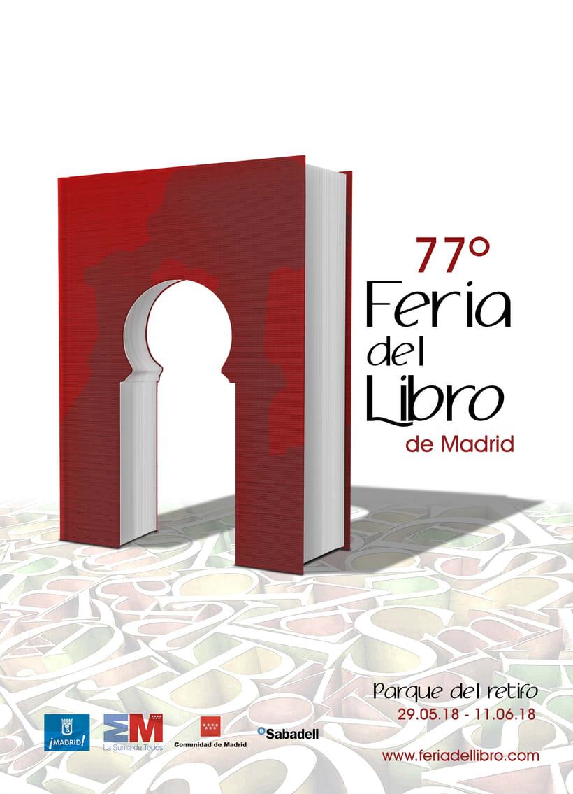 Cartel Feria del Libro 1
